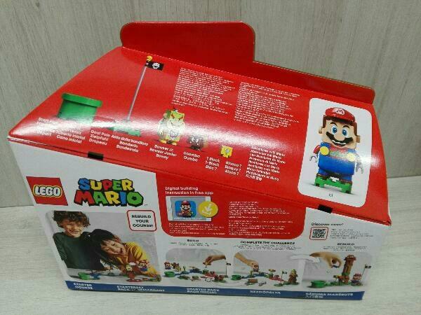 未開封品 LEGO SUPER MARIO スーパーマリオ レゴ マリオ と ぼうけんのはじまり スターターセット 71360_画像3