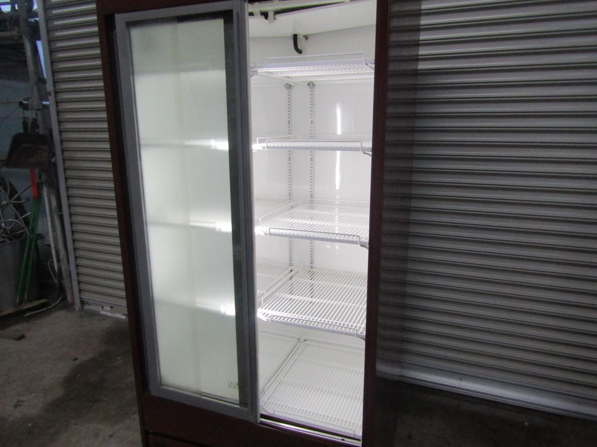 ★【リーチイン冷蔵ショーケース】TRM-M30X-E フクシマ 2011年製 中古_画像3