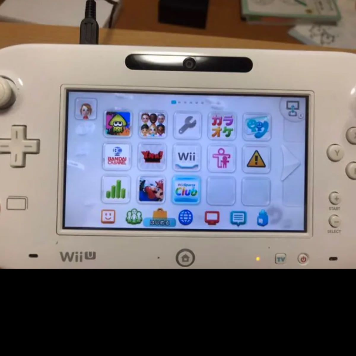 WiiU 本体 WiiUパッド スプラトゥーンソフトセット※注意事項有