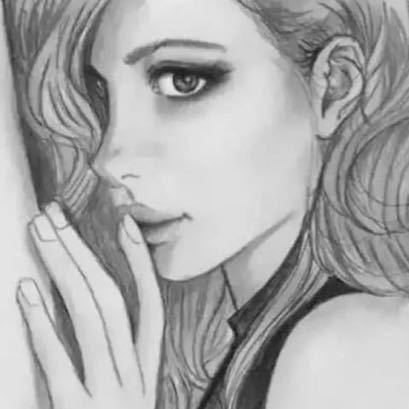 アート 人物画 _画像2