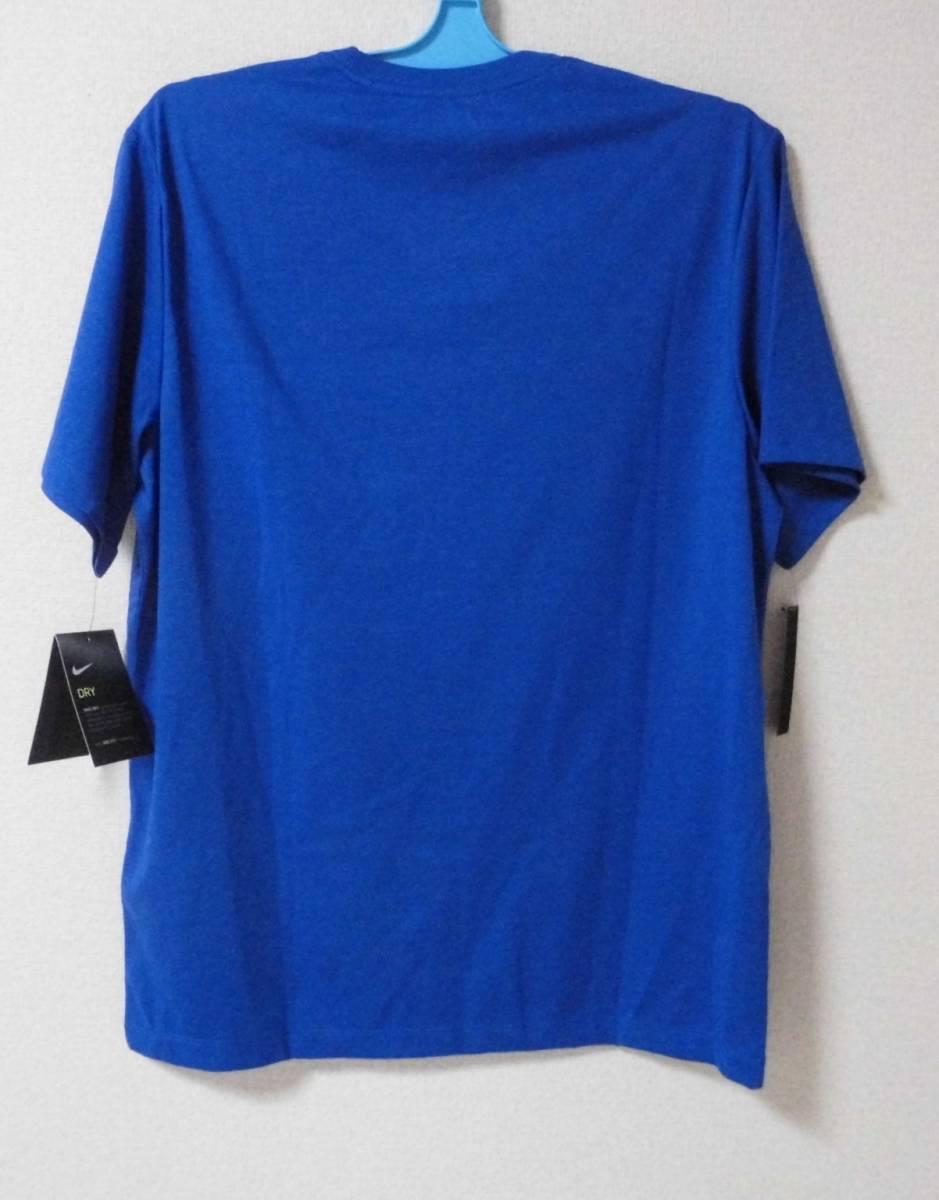 【デカロゴ】NIKE ナイキ Tシャツ サイズXL BQ1854-480  色:ゲームロイヤル  DRI-FIT