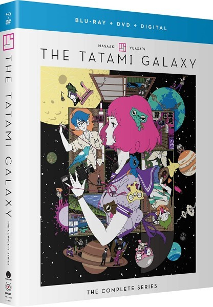 【送料込】四畳半神話大系 全11話+OVA (北米版コンボ) The Tatami Galaxy BD/DVD