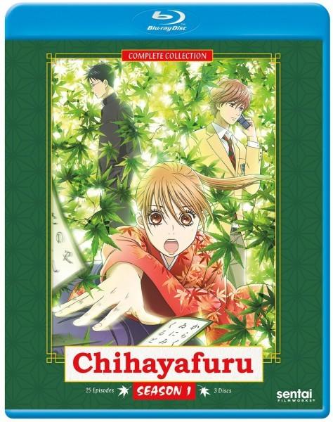 【送料込】ちはやふる 第1期 全25話(北米版 ブルーレイ) Chihayafuru Season 1 blu-ray BD