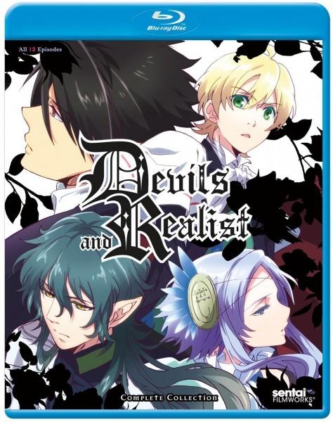 【送料込】魔界王子 全12話(北米版 ブルーレイ) Devils and Realist blu-ray BD