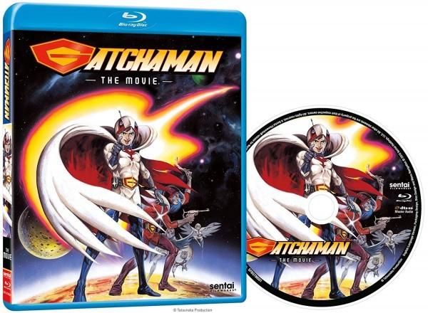 【送料込】ガッチャマン 劇場版 (北米版 ブルーレイ) Gatchaman: The Movie blu-ray BD