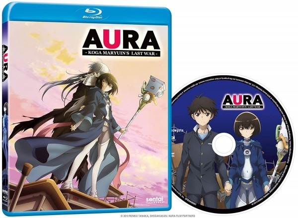 【送料込】AURA ~魔竜院光牙最後の闘い~ 劇場版 (北米版 ブルーレイ) Aura: Koga Maryuin's Last War blu-ray BD