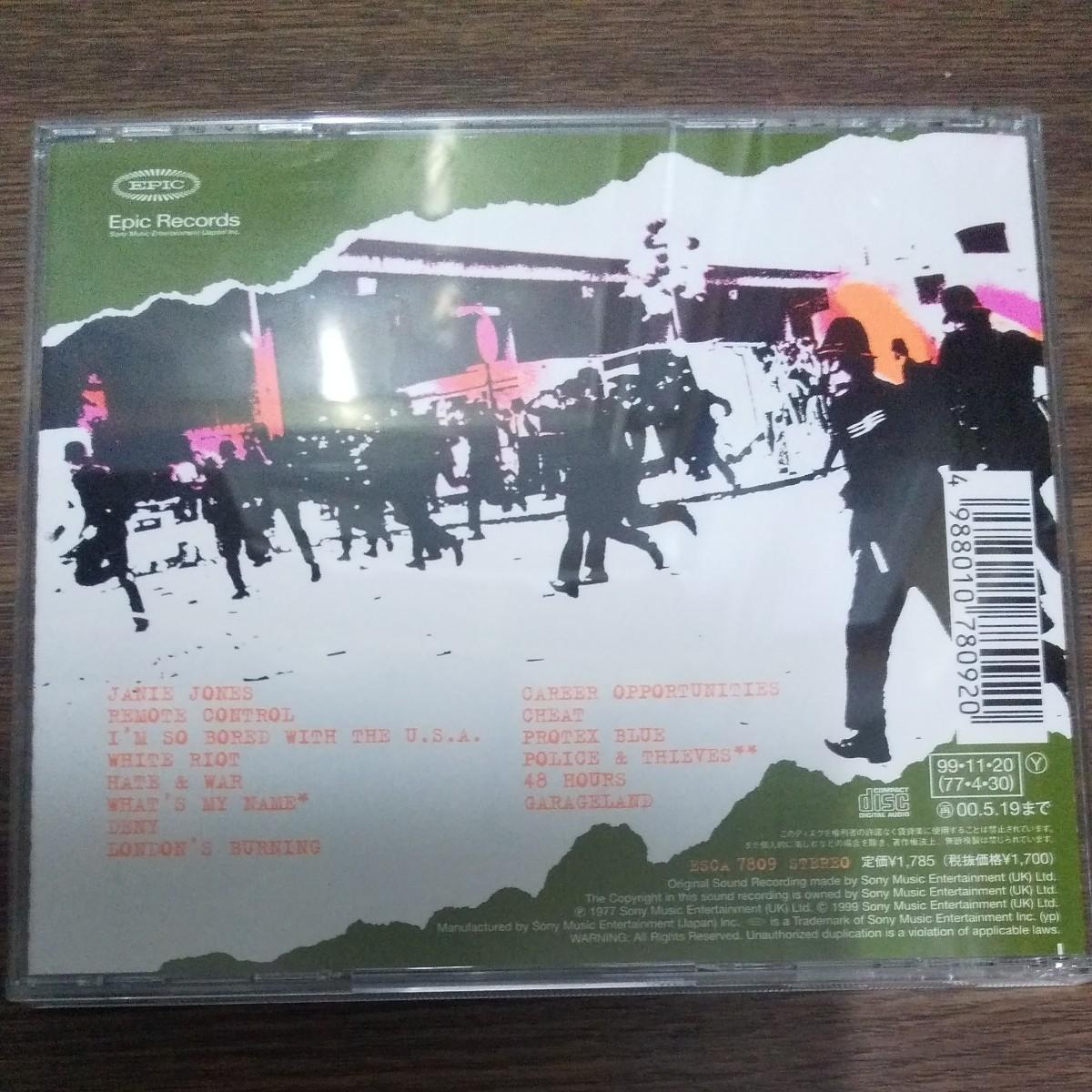 CD ザ クラッシュ 白い暴動