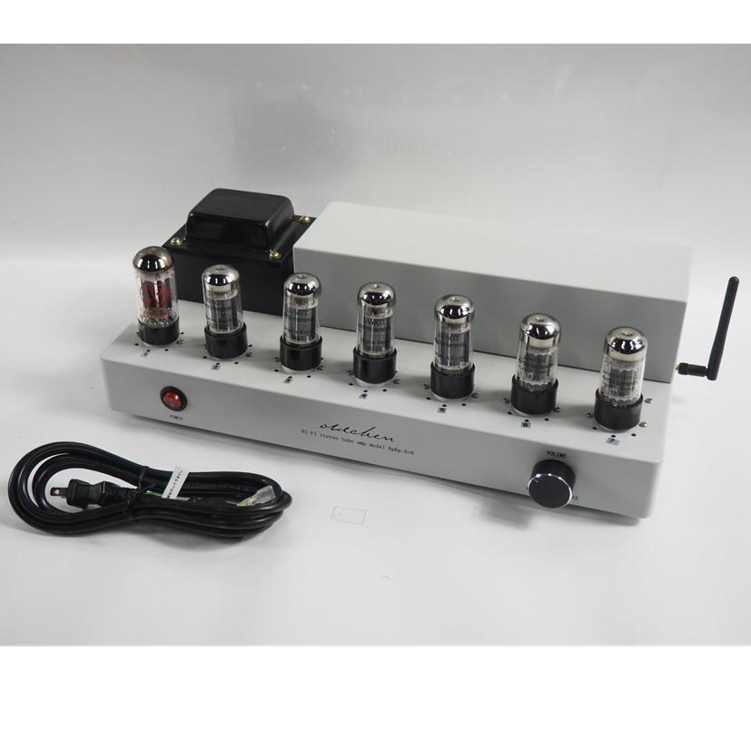 1円【ジャンク】 oldchen 真空管アンプ Hi-Fi stereo tube amp Bluetooth付 6p6p-6v6 【79】