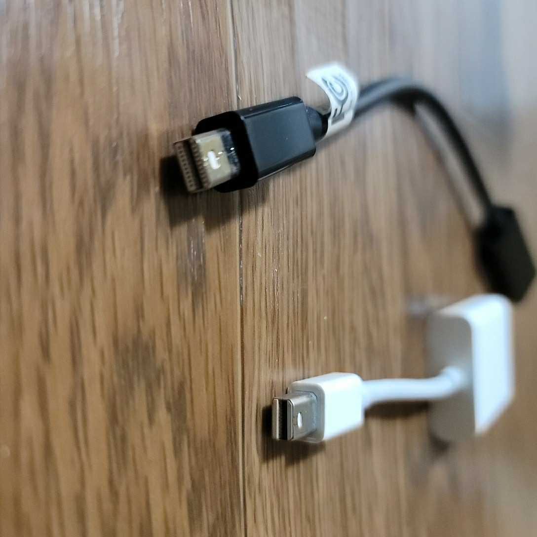 mini DisplayPort HDMI VGA ミニディスプレイポート