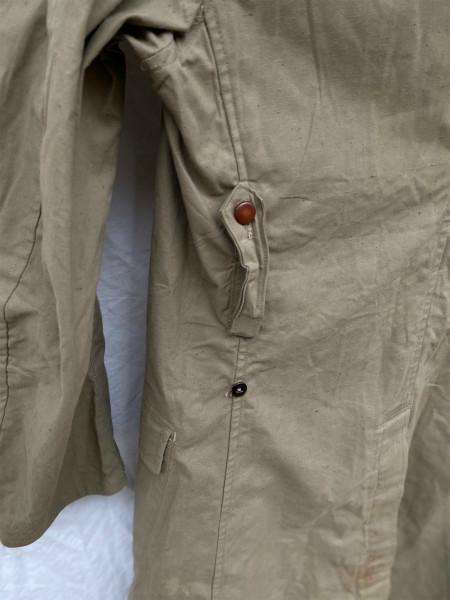 昭和初期 戦中 旧日本軍 フード付 フラップポケット Aライン コート 外套 JAPAN VINTAGE ジャパンヴィンテージ 昭和十九年製 小號 大支検定_画像7