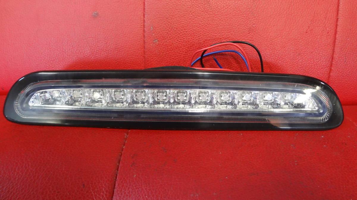 【少し訳あり】200系 ハイエース 3型後期 4型 LED ハイマウント ストップ ランプ 黒ふち_画像1