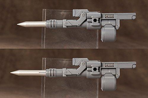 M.S.G モデリングサポートグッズ ウェポンユニット03 フォールディングキャノン 全長110mm NONスケール プラモデル_画像5