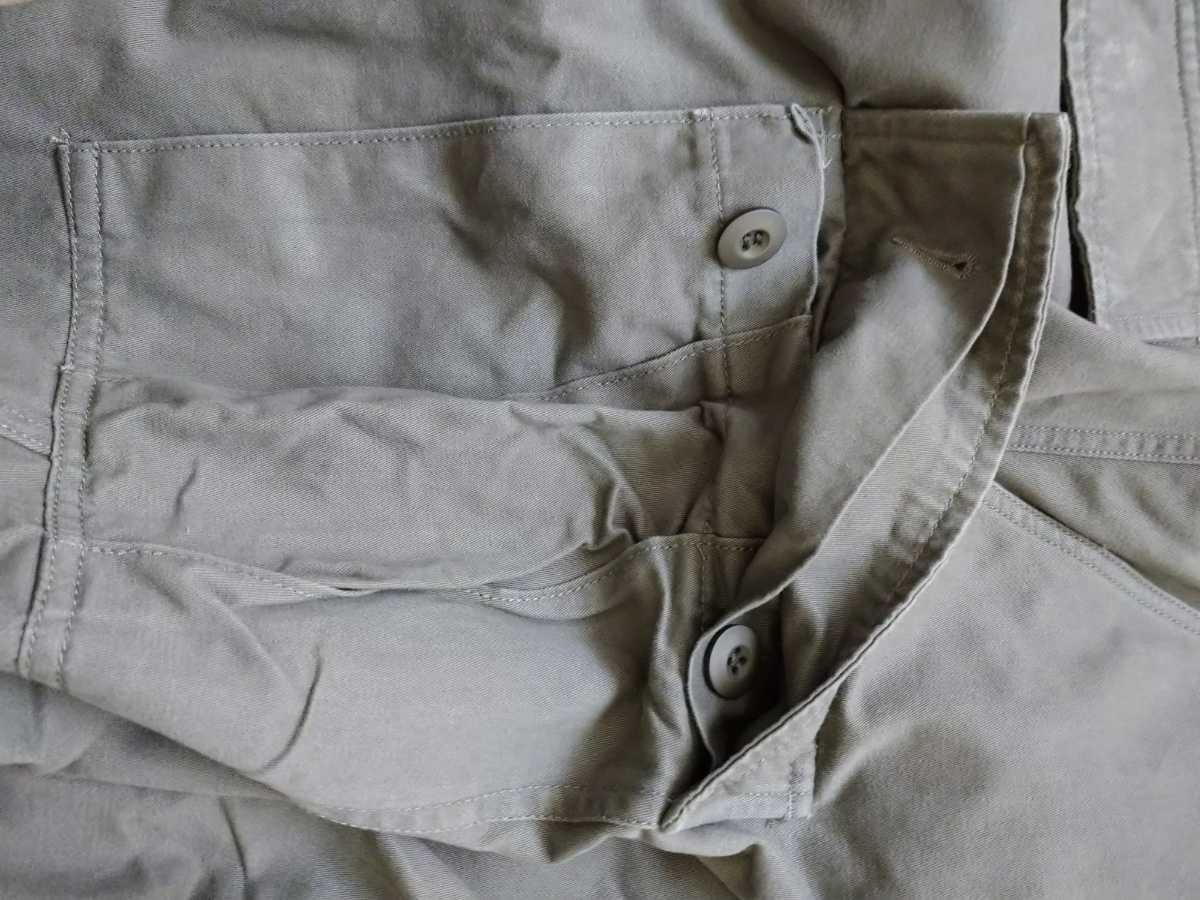 【ほぼ新品】 米軍 BDU カーゴパンツ スリムフィット オリーブ Lサイズ ARMY メンズ 軍パン ズボン ミリタリー ボトムス アメリカ軍 パンツ_画像5