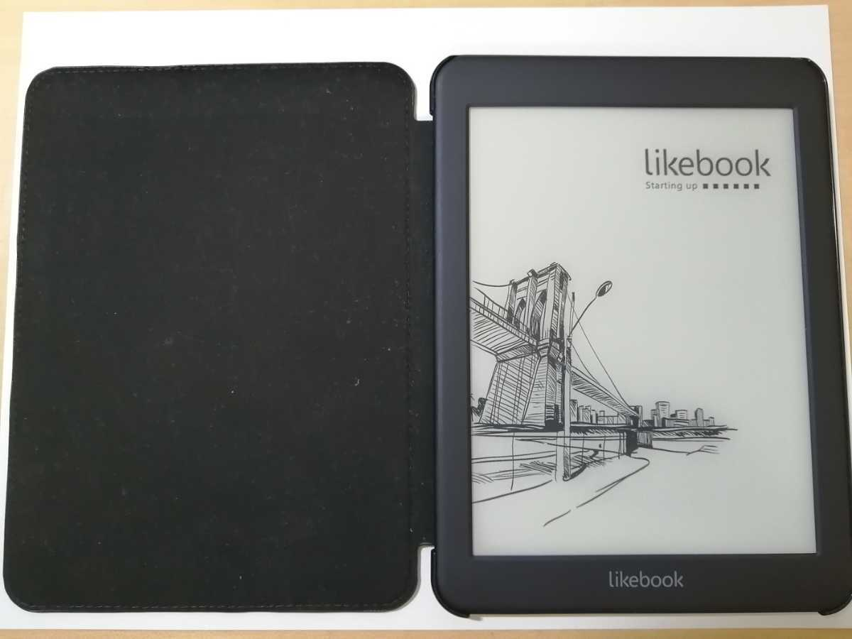 Likebook Mars 電子書籍リーダー カバー付き E-ink Androidタブレット_画像4