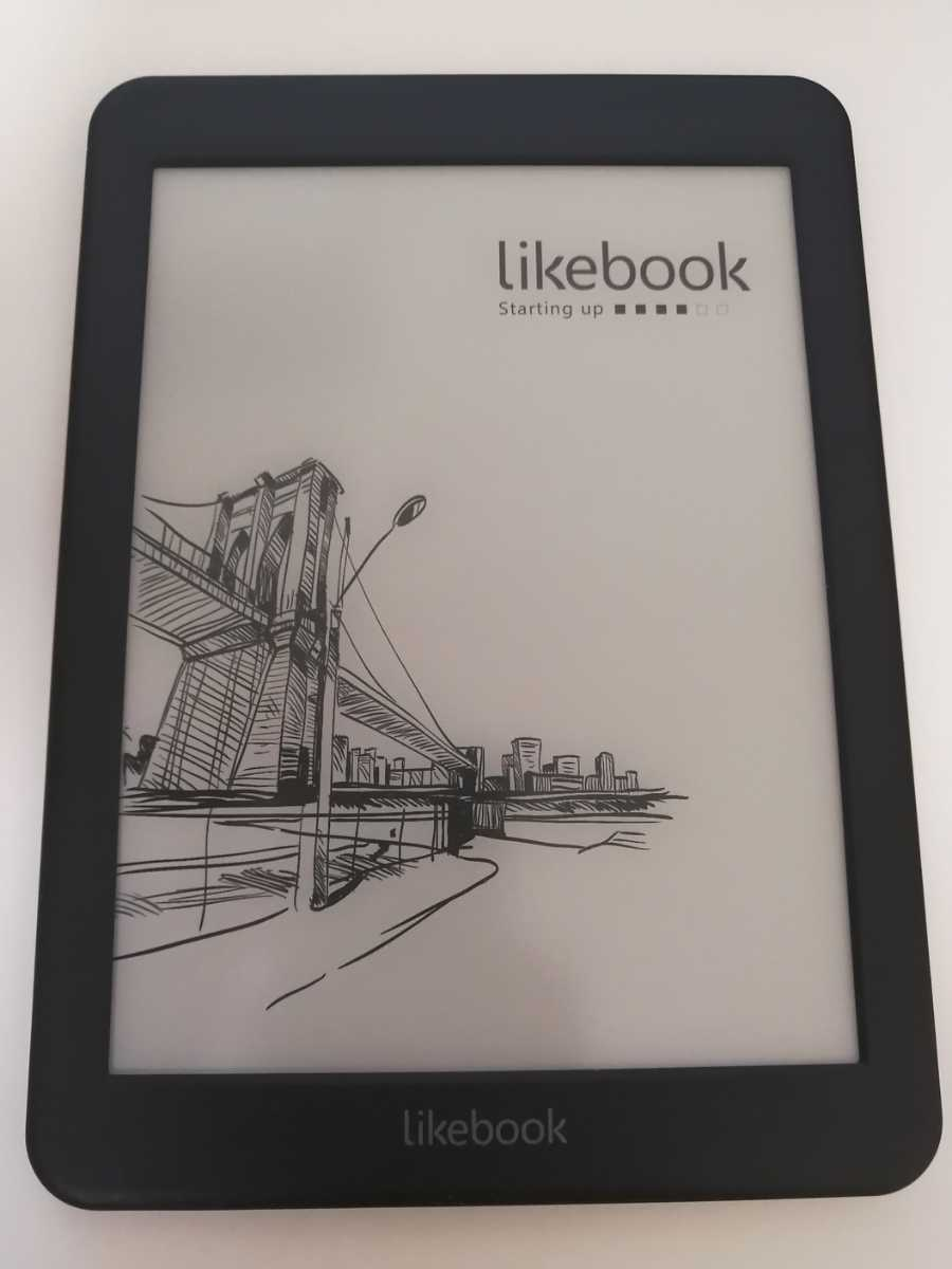 Likebook Mars 電子書籍リーダー カバー付き E-ink Androidタブレット_画像2