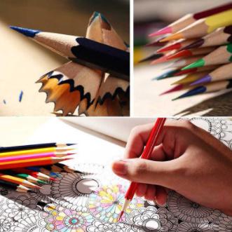 y405 色鉛筆 48色 油性 オイルカラー鉛筆_画像2