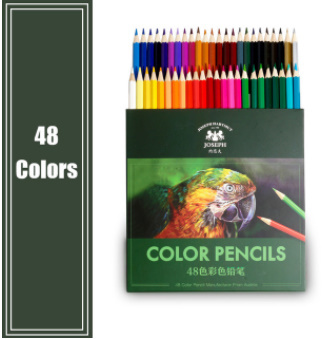 y405 色鉛筆 48色 油性 オイルカラー鉛筆_画像1