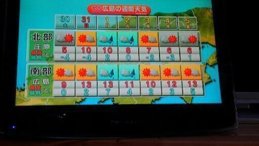 B-CASカード付2015年製 19型DVDプレーヤー内蔵テレビ  WS-TV1919DVB_画像1