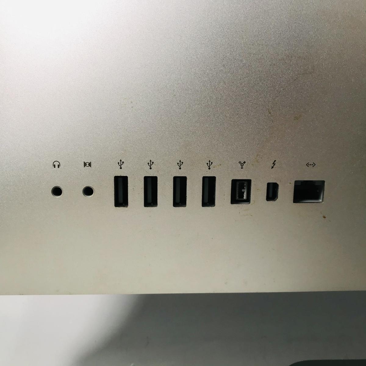 動作確認済み iMac 21.5インチ(Mid 2011) Core i5 2.5GHz/12GB/500GB MC309J/A_画像6