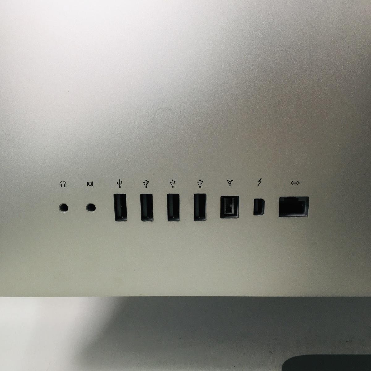 動作確認済み iMac 21.5インチ(Mid 2011) Core i5 2.7GHz/4GB/1TB MC812J/A_画像6