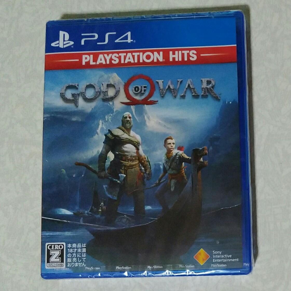 PS4 GOD OF WAR ゴッドオブウォー★新品未開封