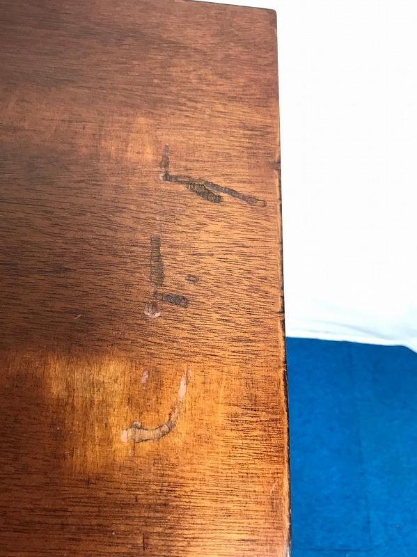 【米軍放出品】DREXEL/ドレクセルヘリテイジ ナイトテーブル 木製 サイドテーブル 電話台☆EK17QM_画像7