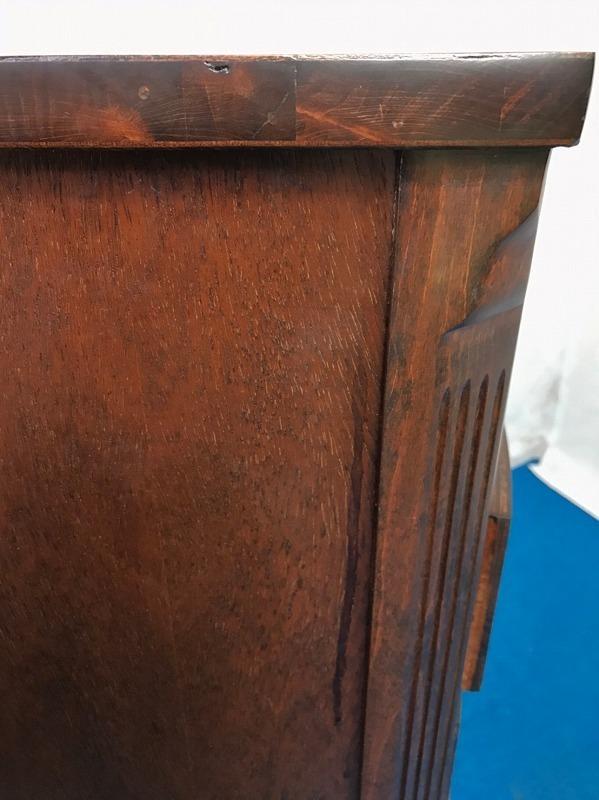 【米軍放出品】DREXEL/ドレクセルヘリテイジ ナイトテーブル 木製 サイドテーブル 電話台☆EK17QM_画像8