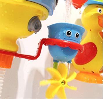 ブルー (Toy Lob) お風呂 おもちゃ 水遊び シャワー バストイ ウォーター 噴水 お風呂玩具 子供 幼児 赤ちゃん _画像9