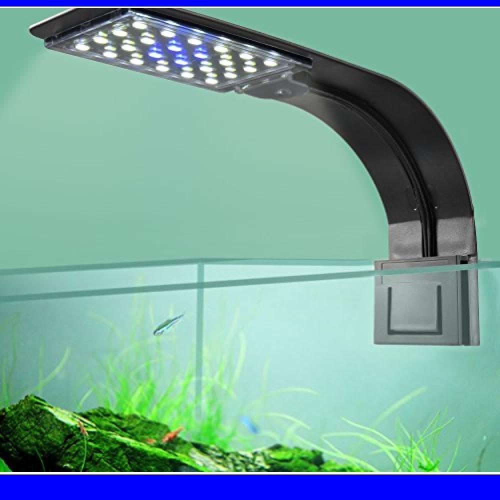 20白4青 LEDGLE LEDアクアリウムライト 水槽 ライト 小型水槽ランプ 10W 長寿命 省エネ 水槽照明 観賞魚 熱帯_画像4