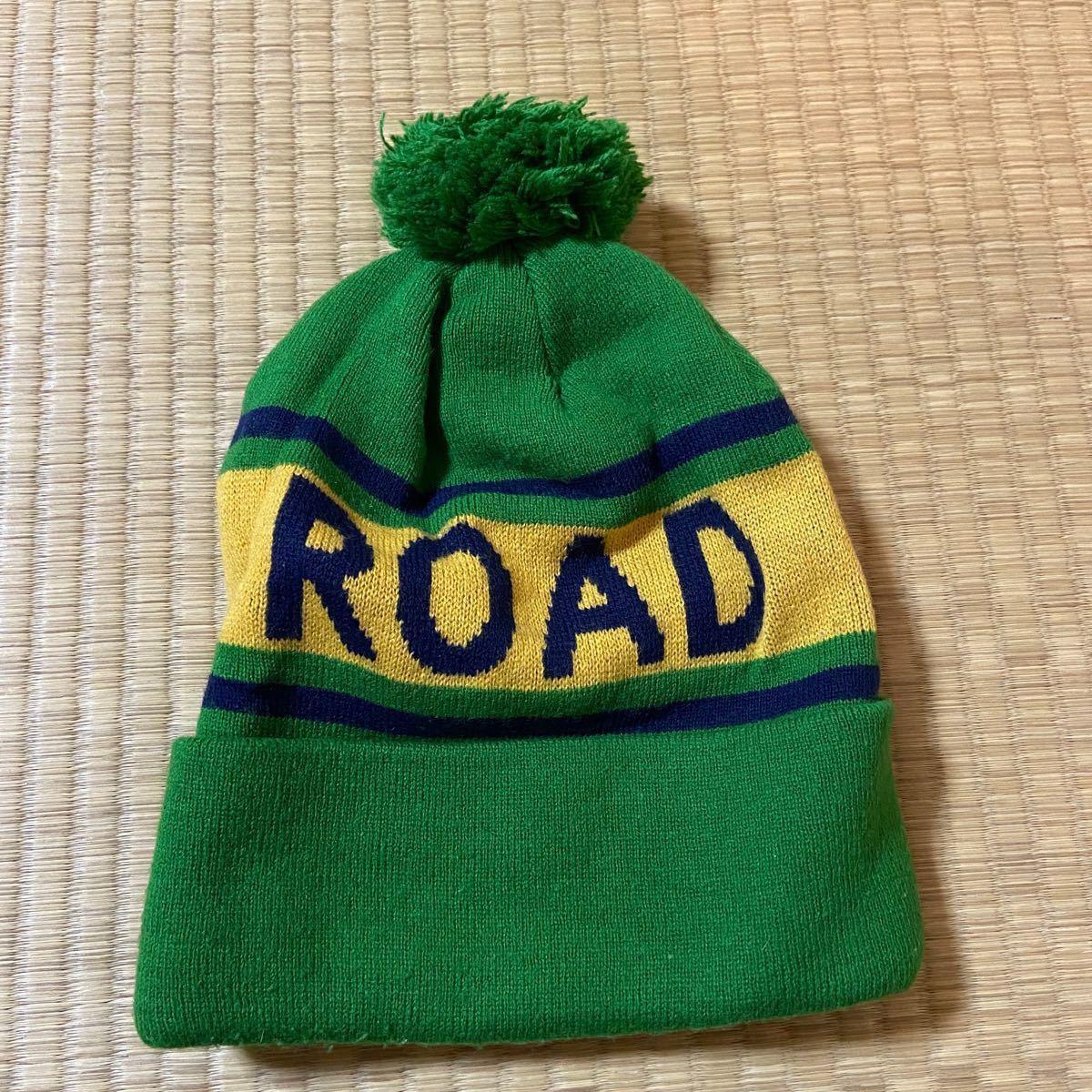 ニット帽 緑 黄色 スノボ グリーン 帽子 ニットキャップ レディースOK