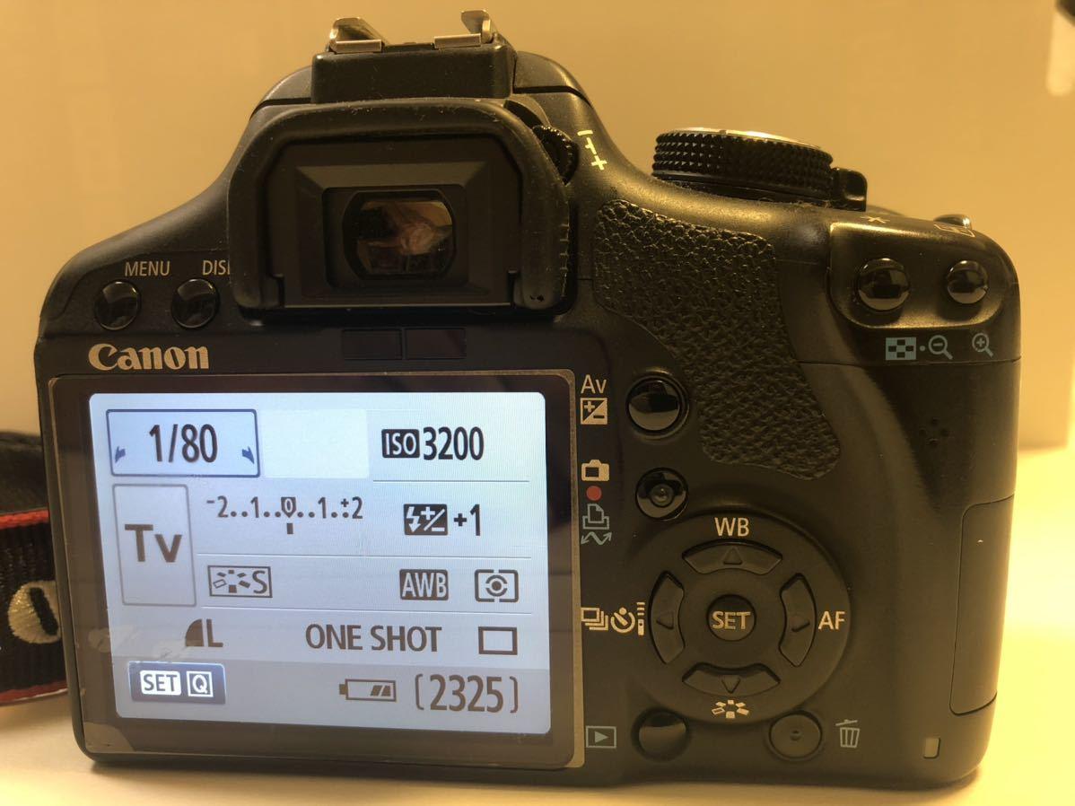 Canon DIGITAL カメラ・KISS X3 + EF-S 55-250mmレンズセット_画像5