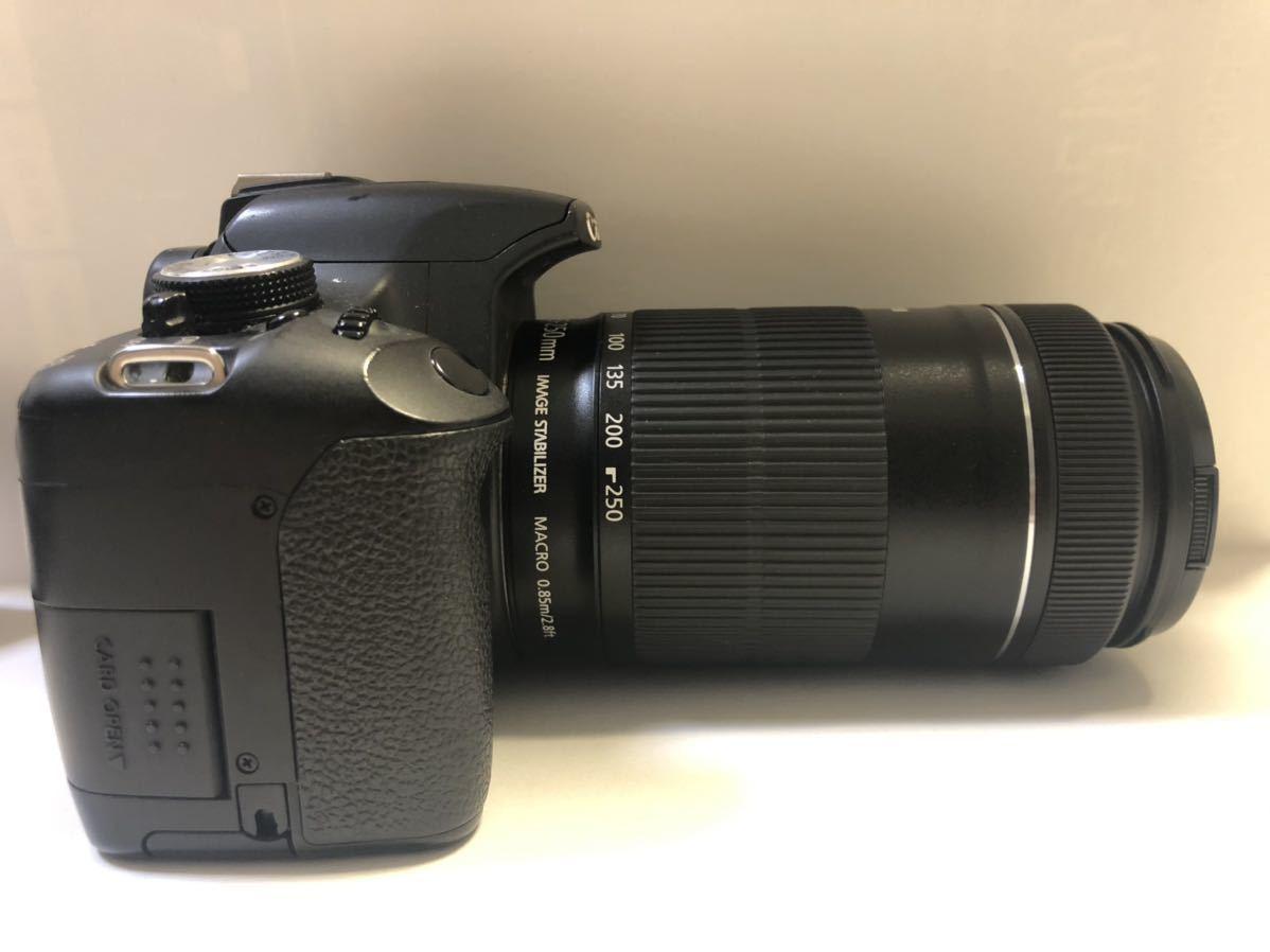 Canon DIGITAL カメラ・KISS X3 + EF-S 55-250mmレンズセット_画像7