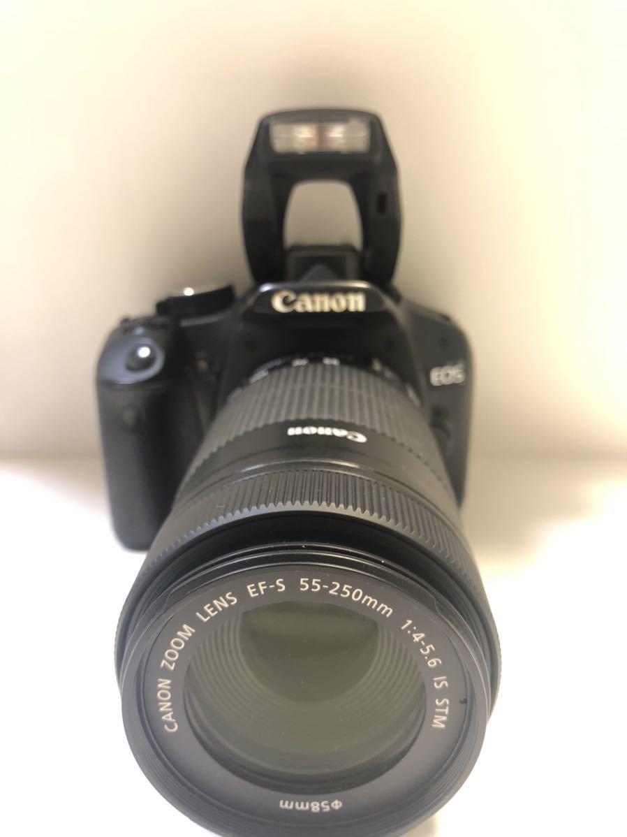 Canon DIGITAL カメラ・KISS X3 + EF-S 55-250mmレンズセット_画像8