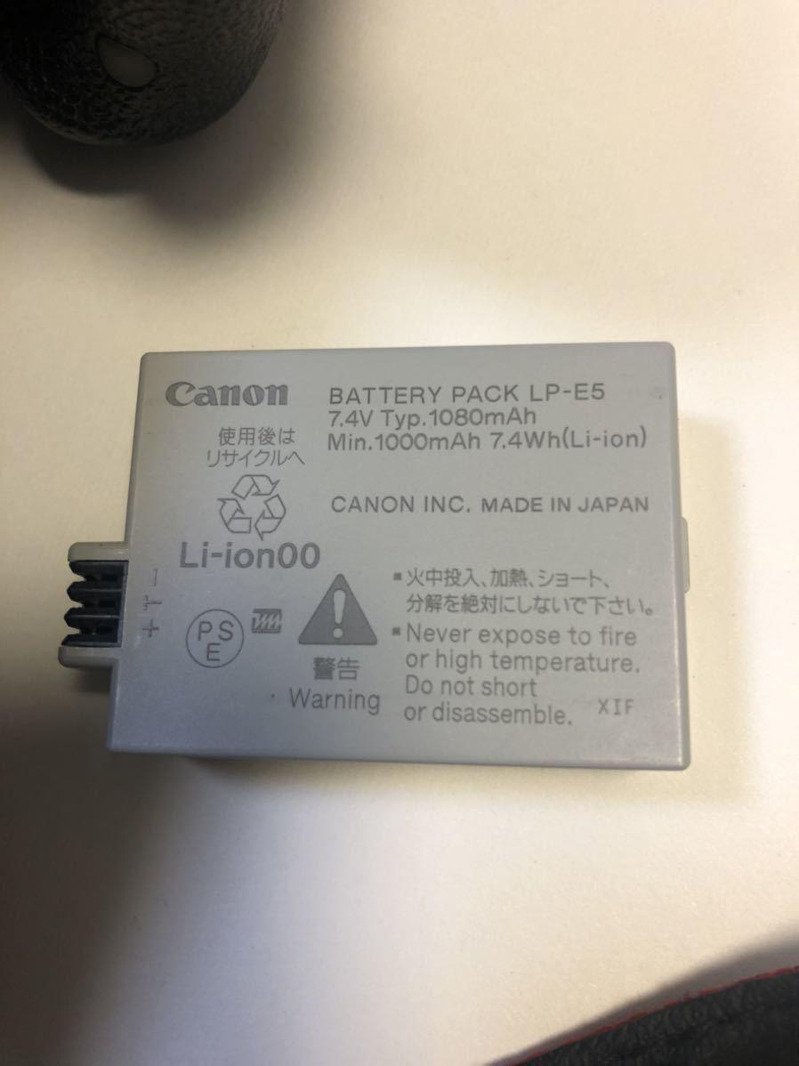 Canon DIGITAL カメラ・KISS X3 + EF-S 55-250mmレンズセット_画像4