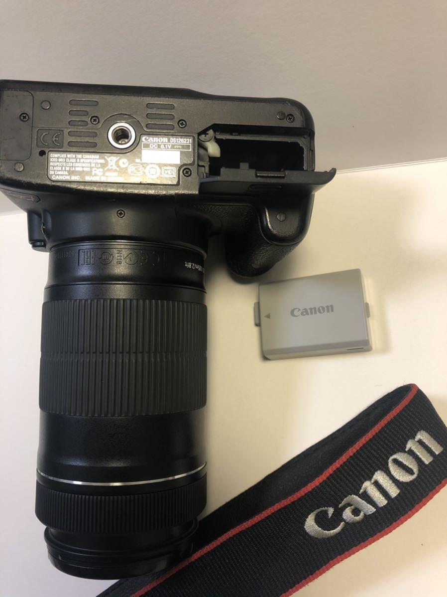 Canon DIGITAL カメラ・KISS X3 + EF-S 55-250mmレンズセット_画像3