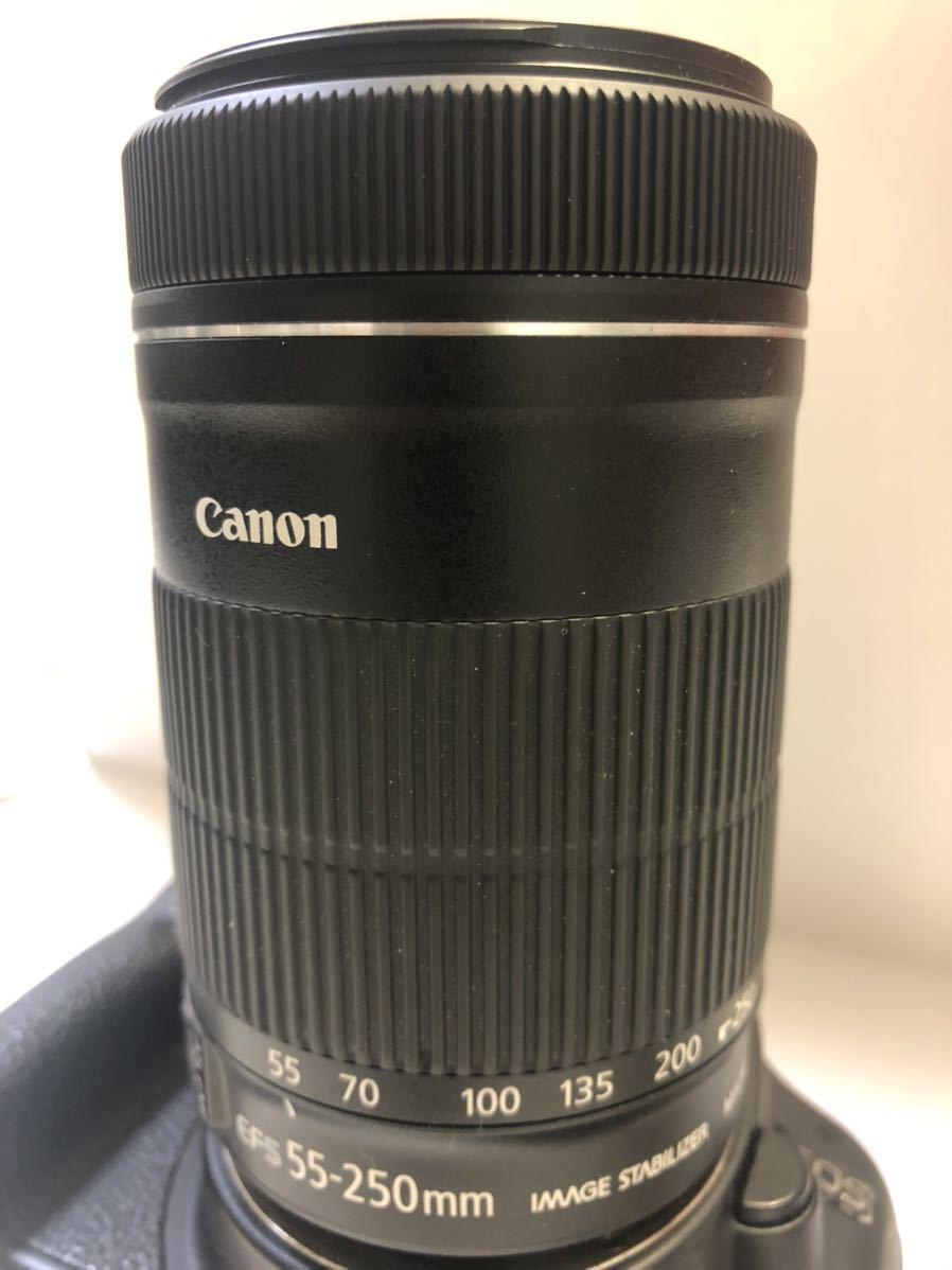 Canon DIGITAL カメラ・KISS X3 + EF-S 55-250mmレンズセット_画像10