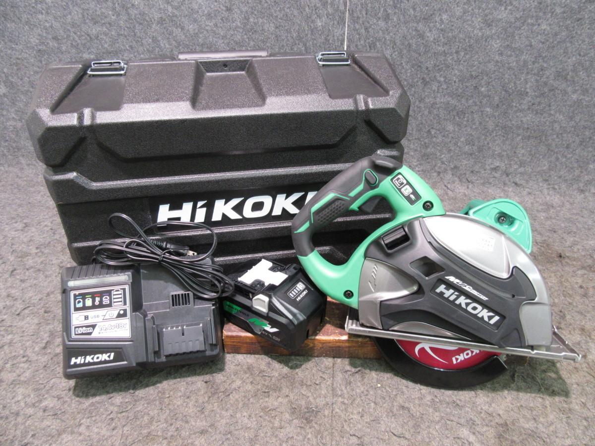 【未使用品】HiKOKI/旧日立工機 コードレスチップソーカッター CD3607DA(WP) マルチボルト 36V 【代引き・領収書OK】【格安スタート♪】