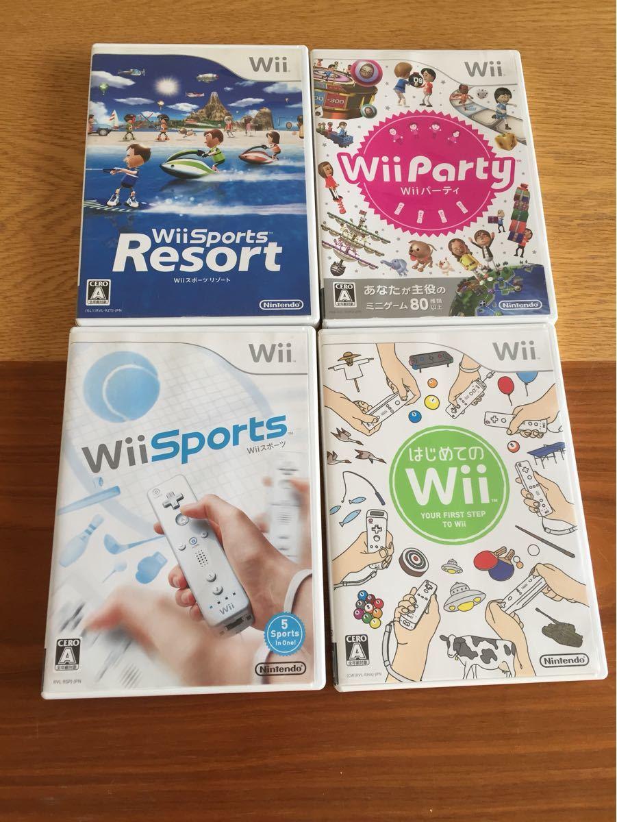 ☆Wii ソフト☆ パーティ スポーツ リゾート はじめてのWii