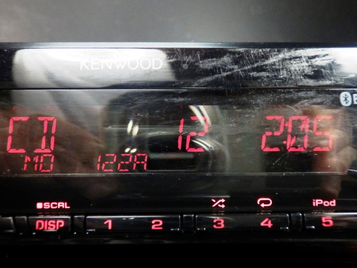 ◆◆ケンウッド KENWOOD U494BT CD USB AUX Bluetooth iPod/iPhone対応 1DIN 31613◆◆_CD
