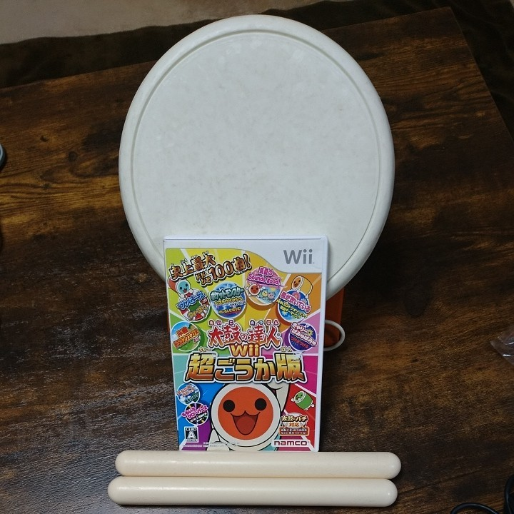 Wii本体 太鼓の達人 Wii