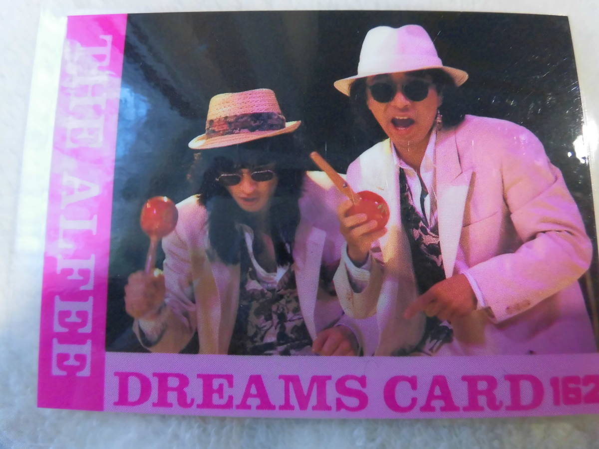 THE ALFEE トレカ DREAMS CARD ドリームスカード  坂崎さんと高見沢さん マラカス・ブラザーズ