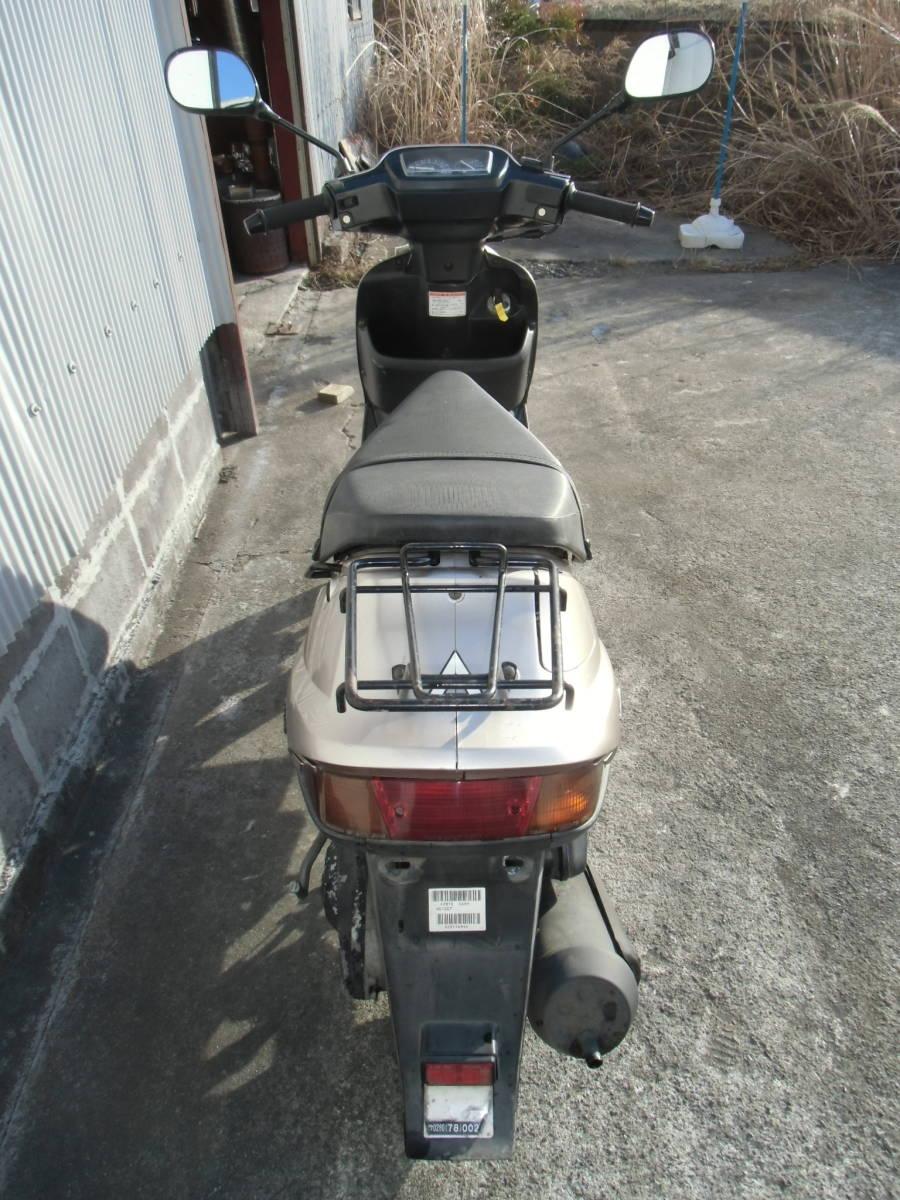 アドレスV100(CE11A)(ADDRESS V100) 2スト100㏄エンジン搭載 福島発!_画像5