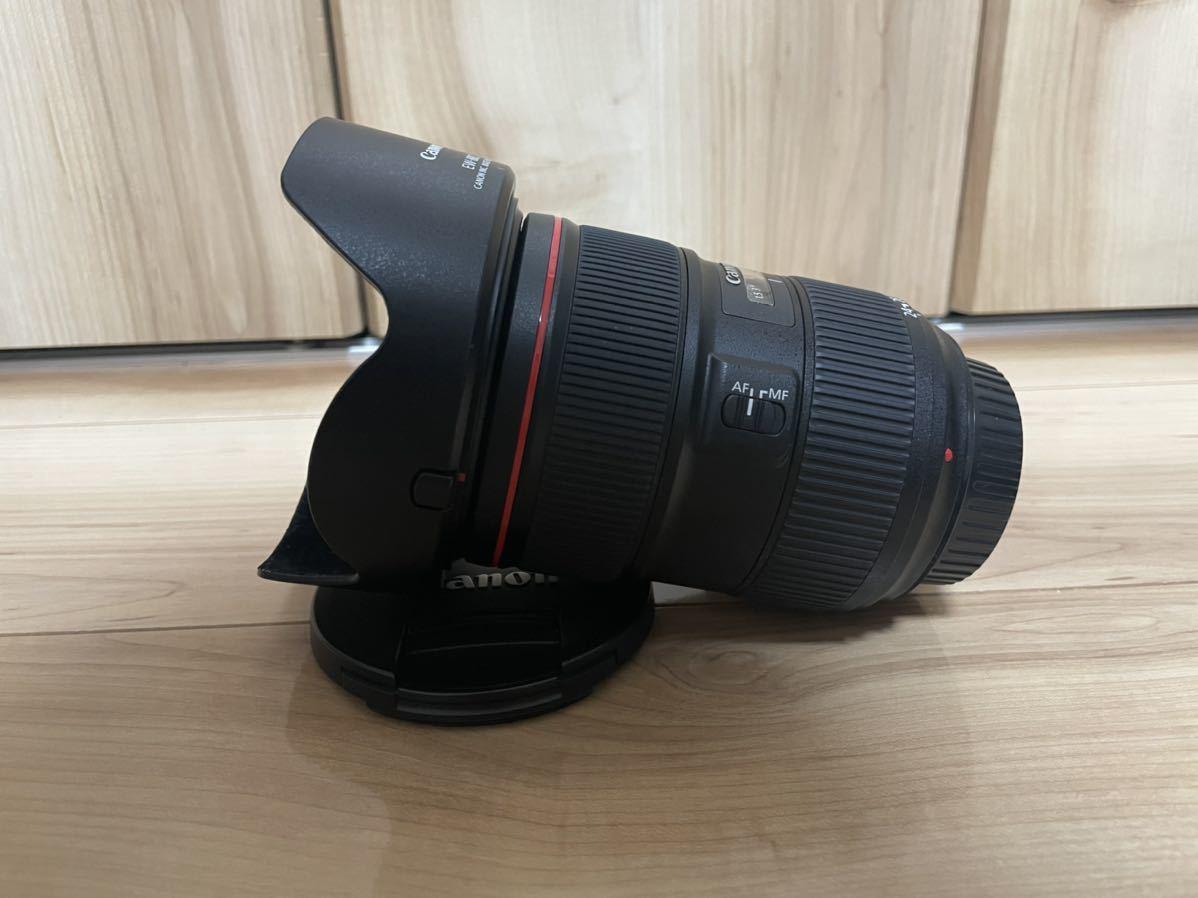 Canon EF 24-70mm F2.8L Ⅱ USM + レンズガード【ほぼ未使用】_画像2