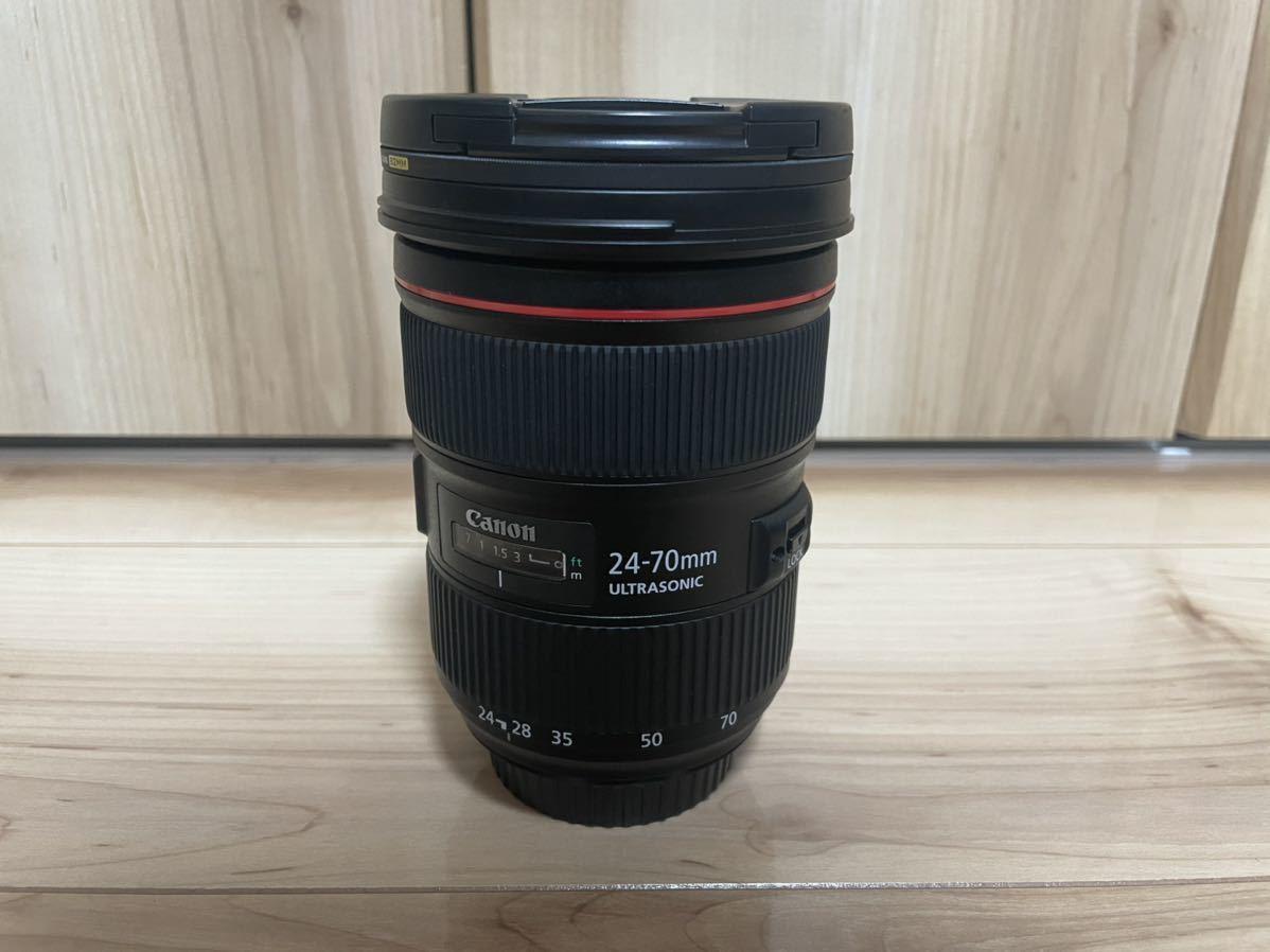 Canon EF 24-70mm F2.8L Ⅱ USM + レンズガード【ほぼ未使用】_画像3