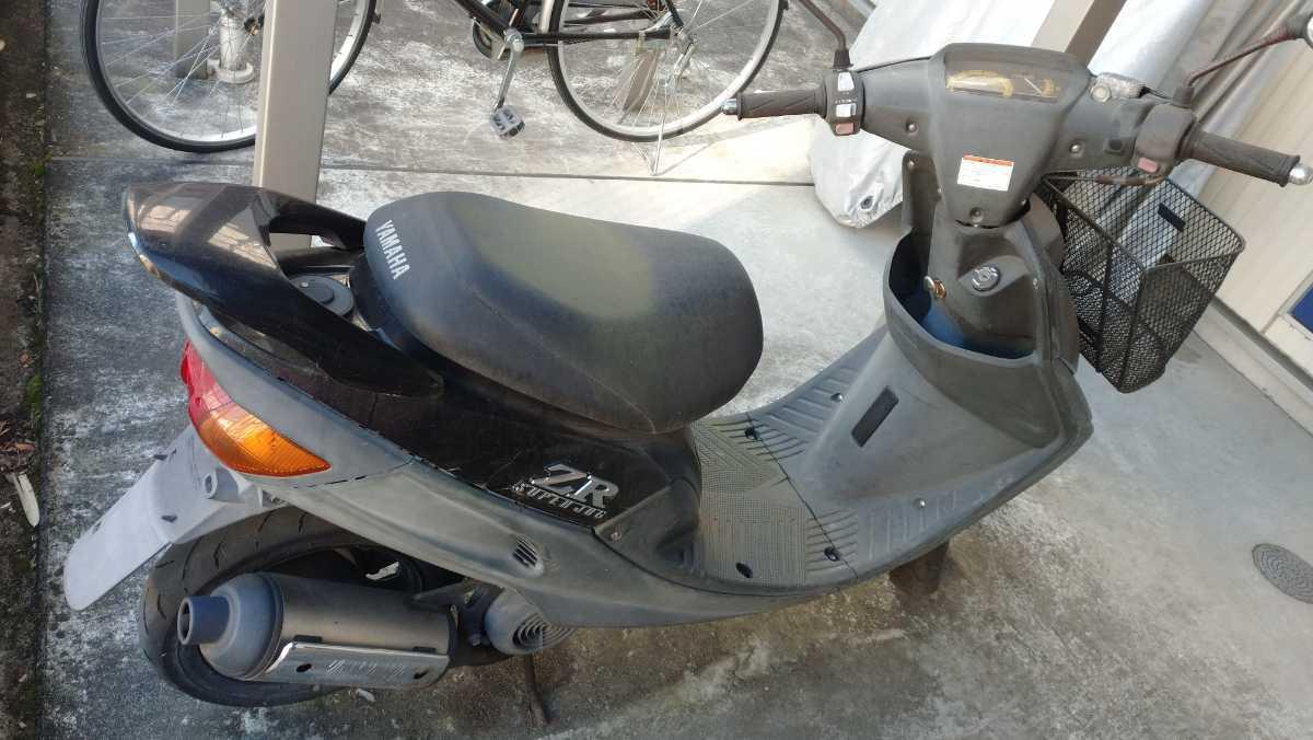 「スーパージョグ ZR 3YK 黒 本物 実走行 2オーナー 96年式 車体 ヤマハ」の画像2