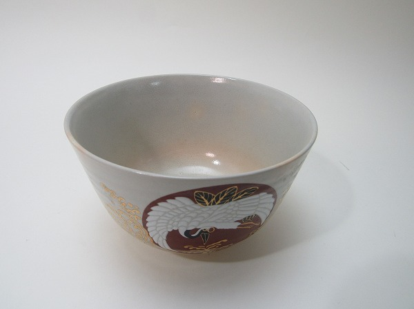 YG02054 [Old matcha bowl, gold color painting, pottery, Shozan paper cosmetic box] Inspection) Ceramic ware ceramic ware, tea bowl, tea utensils, tea ceremony, tea ceremony, tea ceremony, tea ceremony, tea ceremony, tea ceremony, tea ceremony, tea ceremony, tea ceremony, tea ceremony, tea ceremony, tea ceremony, tea ceremony, tea ceremony, tea ceremony, tea ceremony, tea ceremony, tea ceremony, tea ceremony, tea ceremony, tea ceremony,