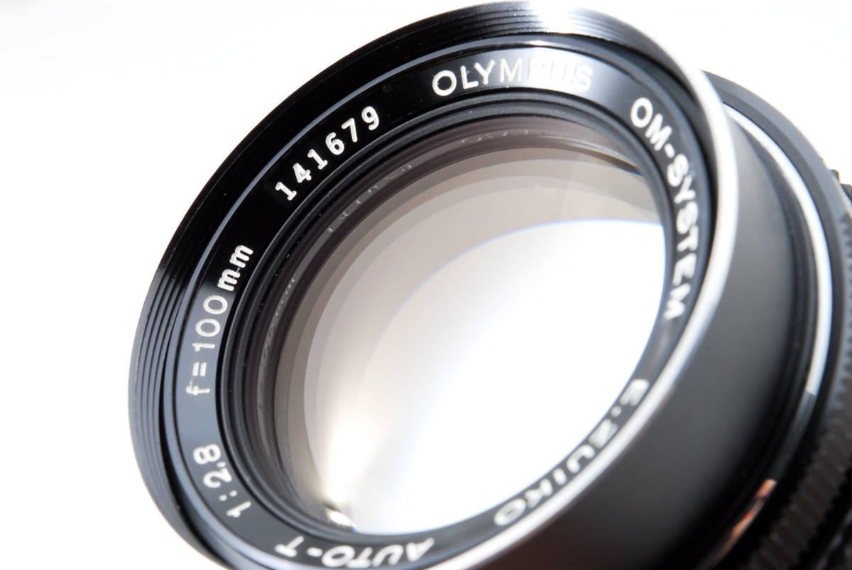 値下げ!希少★極上品★ OLYMPUS オリンパス OM-SYSTEM E.ZUIKO AUTO-T 100mm F2.8 中望遠レンズ