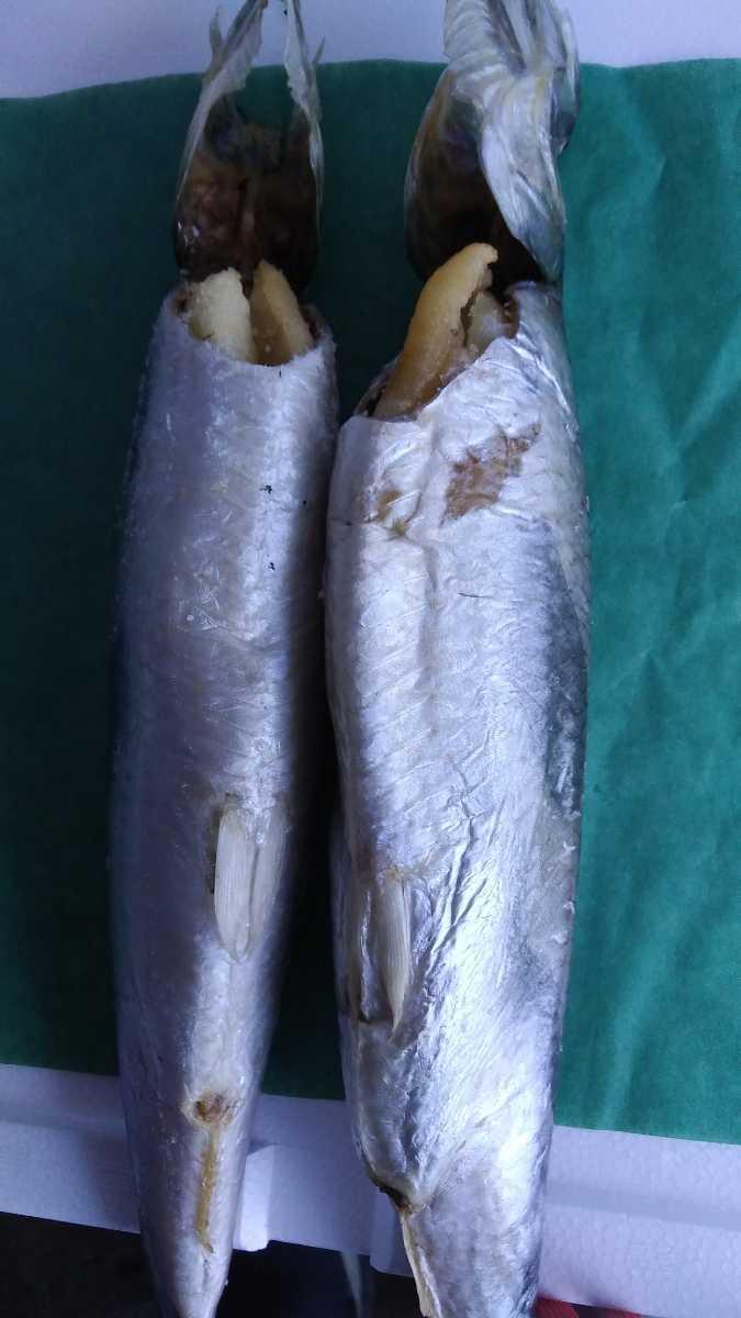 (魚)子持ちニシン30~35cm1本498円即決_画像2
