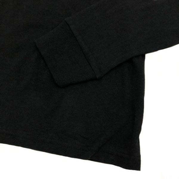 1円~!売切!【正規新品】Calvin Klein Jeans CK 袖ロゴ ビッグロゴ 高品質 上質 長袖 Tシャツ ロンT ロゴT カットソー(M)黒 181215-m20_画像3