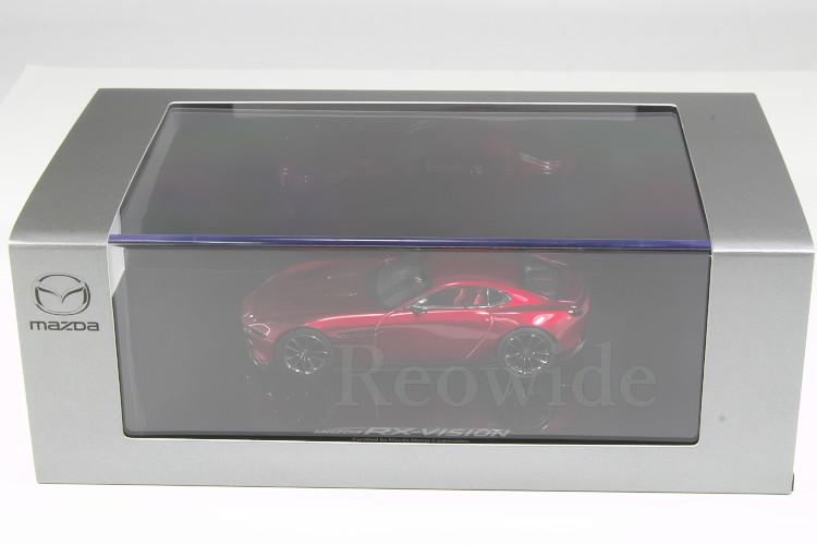 マツダ ディーラー特注 1/43 Mazda RX-VISION COUPE ロータリースポーツコンセプト_画像3
